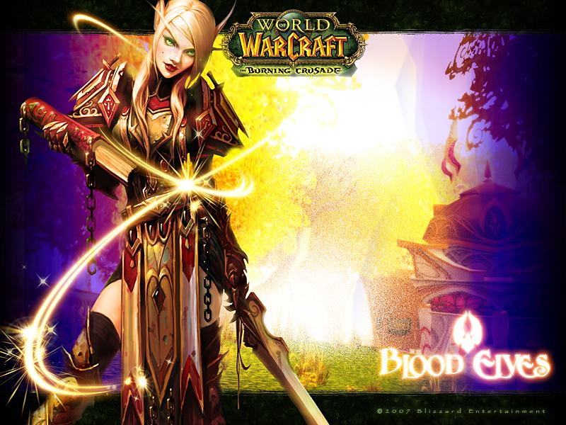 world of warcraft blood elf hunter. Draenei or Blood Elf?
